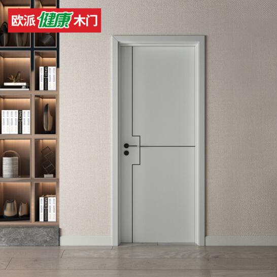 欧派木门水性漆全木门室内实木卧室门OPMA-5003Z