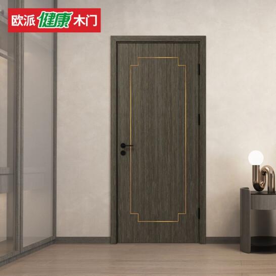 欧派水性漆全木门室内实木卧室门OPMA-5005Z